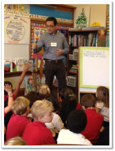 GRC goes to first grade.